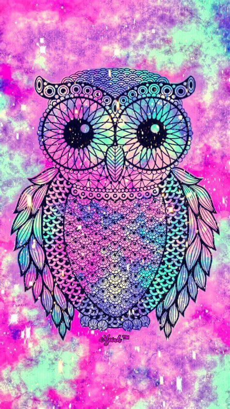 imagenes tumblr para fondos de computadora cute owl galaxy iphone android wallpaper owl lockscreen