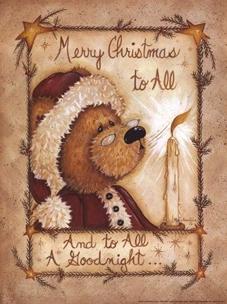 merry christmas   fine art print  mary ann june  fulcrumgallerycom