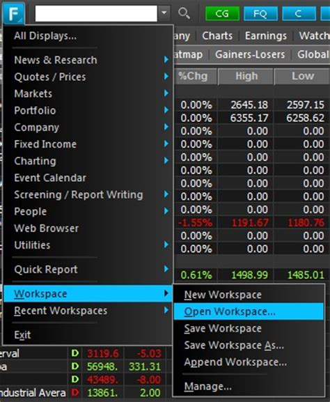 Factset For Mba Finance by Financial Modeling Wiki Factset User Workspaces