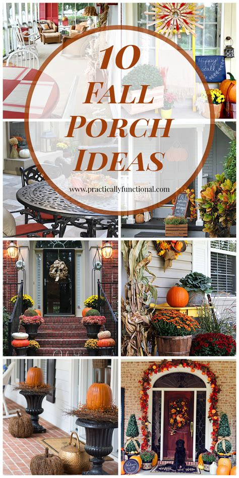 when to start decorating for fall 10 fall porch ideas