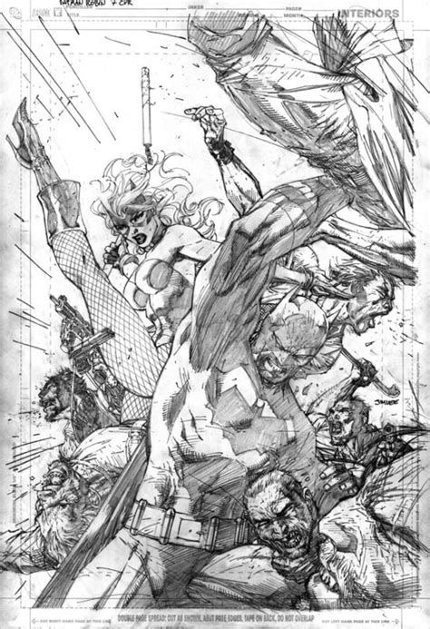 Book review: Icons – The Art of Jim Lee   CG Channel