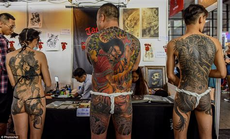 tattoo expo uk 2015 tattoo enthusiasts gathered in china to showcase body art