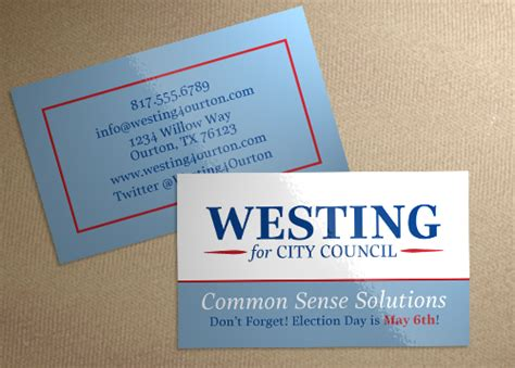 caign card templates free push card template 28 images political palm card push