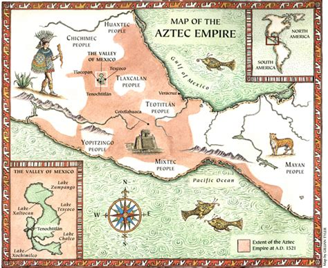 aztec empire map group3pas map and pyramid of the sun