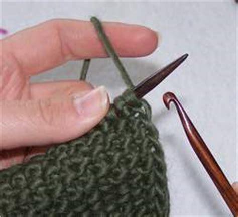 crochet bind for knitting how to crochet bind