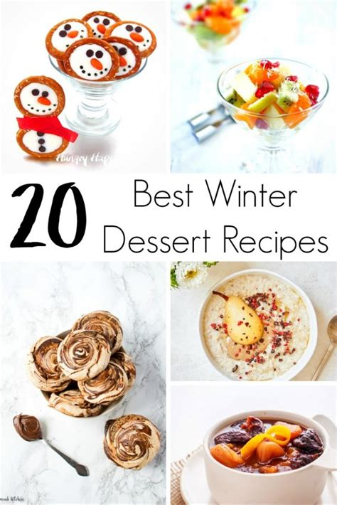 best winter recipes 20 best winter dessert recipes delicious treats for every