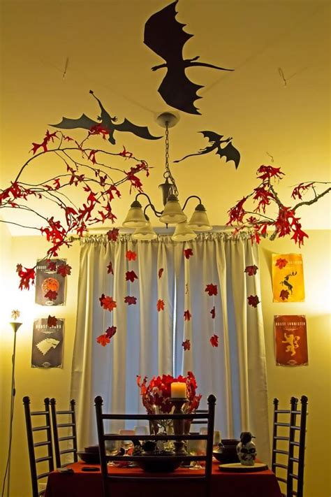 game of thrones decor game of thrones party decor love the dragon silhouettes