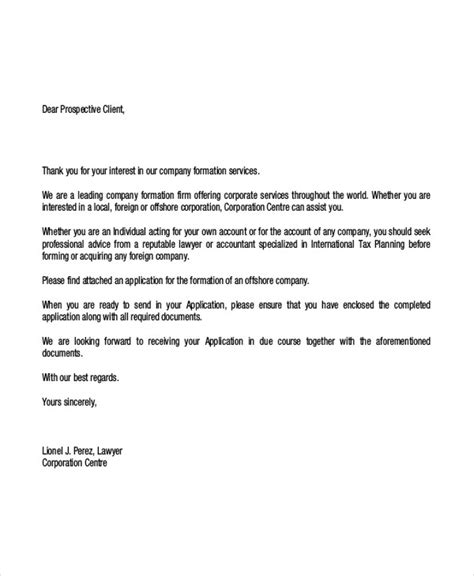 thank you letter to new client 9 client letter templates free sle exle format