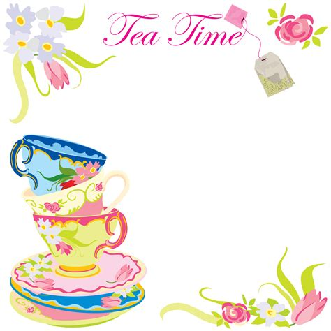 get free printable tea party invitations tea party