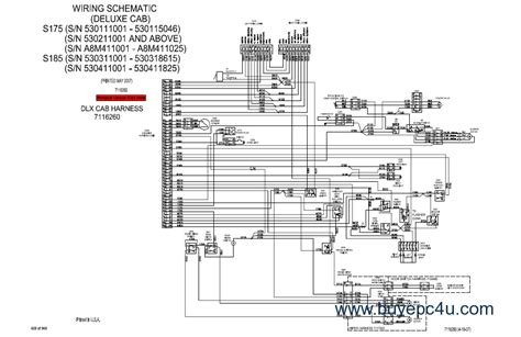 bobcat s175 electrical schematics wiring diagrams wiring