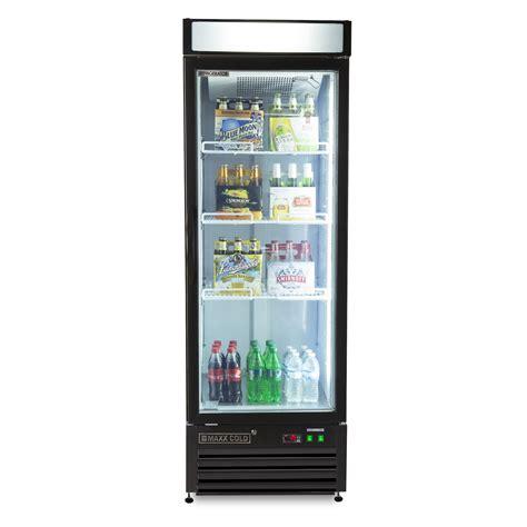 single glass door refrigerator maxx cold mxm1 23rb single glass door refrigerator hinged