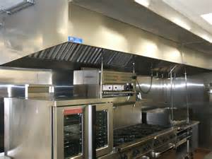 Commercial Kitchen Ventilation Design Commercial Kitchens Exhaust System Installations