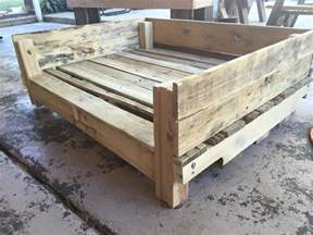 recycled pallet dog bowl holder pallet furniture