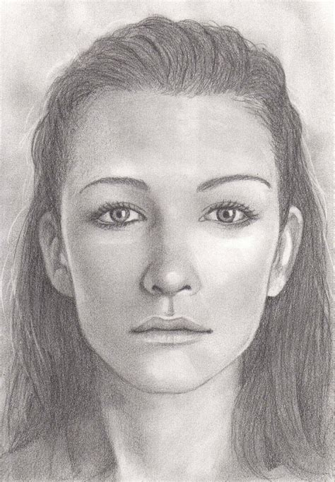 Portraits And Sketches by A Free Step By Step Tutorial On How To Draw Faces From
