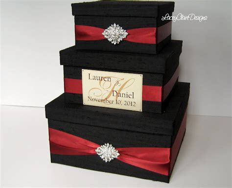 Gift Box Card Holder - wedding gift box card box money holder envelope reception