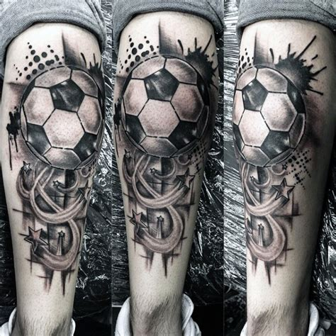 90 soccer tattoos for men sporting ink design ideas