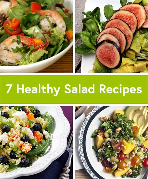 7 Healthy Recipes by Salads Healthy