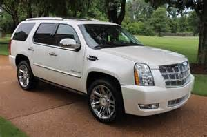 2013 Cadillac Escalade Platinum For Sale 2013 Cadillac Escalade Awd Platinum Edition For Sale Los
