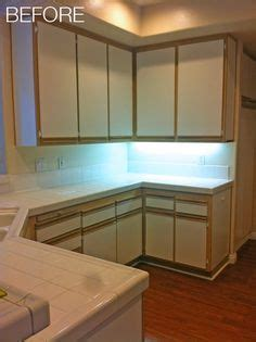 laminate kitchen cabinets makeover 1000 ideas about laminate cabinet makeover on