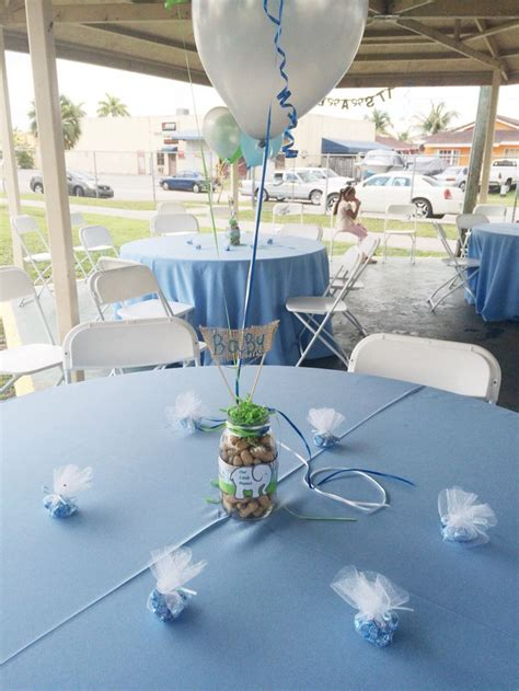 Boy Baby Shower Centerpieces For Tables by Table Boy Baby Shower Elephant Balloons Center Email
