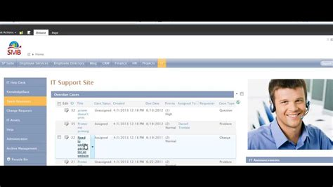 sharepoint helpdesk template 2013 it help desk and support application for sharepoint 2010