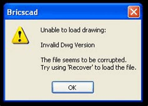how to open dwg file can t open dwg file in bricscad cad software support