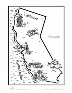 california coloring pages california worksheet education
