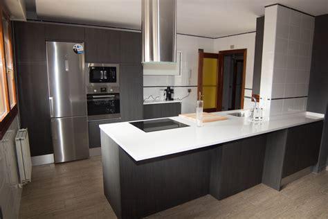 imagenes en blanco y negro modernas ejemplos de cocinas instaladas a clientes