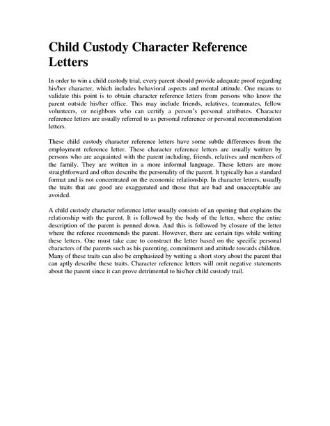 child custody letter template best photos of child guardianship letter sle child