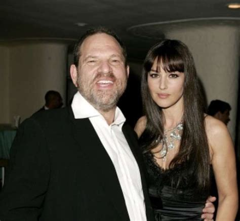 monica bellucci smiling harvey weinstein monica bellucci 2 dago fotogallery