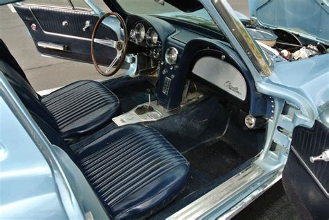 1963 Corvette Interior by No Reserve Split Window 19k Mile 1963 Chevrolet Corvette
