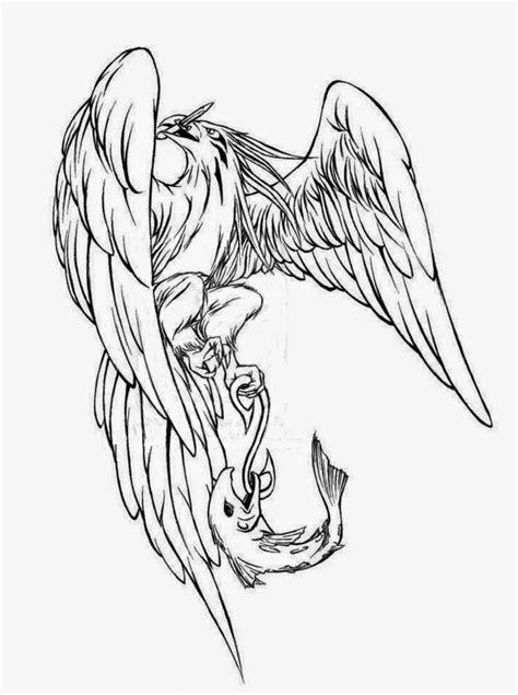 tattoo stencil tattoos book 2510 free printable stencils eagle