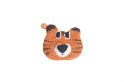 Handmade Felt Animals - handmade felt animal purse by felt so