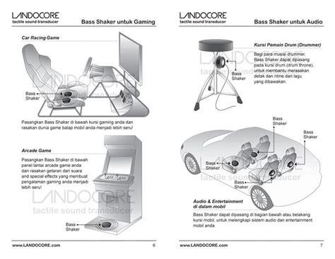Landocore Bass Shaker I new innovation landocore bass shaker ii for home