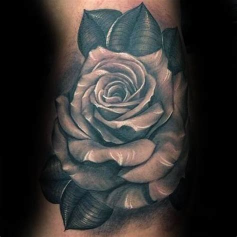 man rose tattoo designs top 55 best tattoos for improb