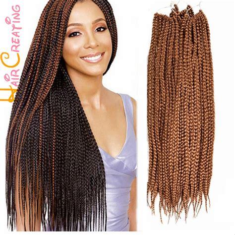medium size packaged pre twisted hair for crochet braids free shipping 24 inch 3s box braid hair crochet braids