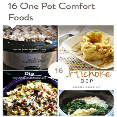 16 One Pot Comfort Foods