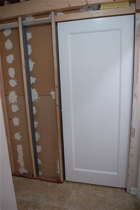 Pocket Doors Installation by Pocket Door Install See Out Posts To See The