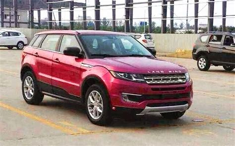 land wind vs land rover land wind x7 la brutta copia della range rover evoque