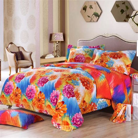 pink and orange bedding sets home furniture design