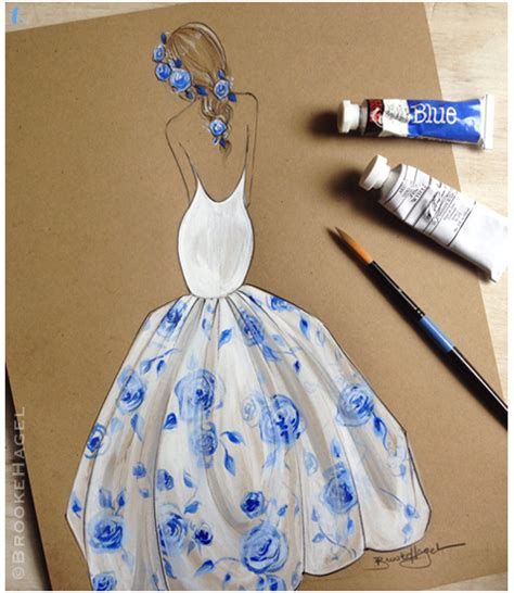 valuable inspiration 7 how to draw a blue print make your own fabulous doodles fashion illustration blog by brooke hagel