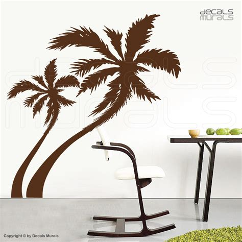 palm tree wall mural large wall decals palm tree vinyl stickers decor