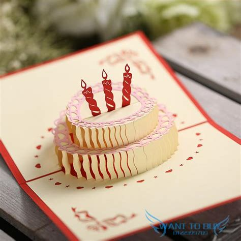 3d birthday cake card template 3d birthday cake 3d handmade card pop end 1 4 2019 3 15 pm