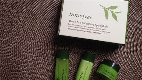Harga Innisfree Green Tea Balancing Special Kit innisfree green tea balancing special kit review memebox