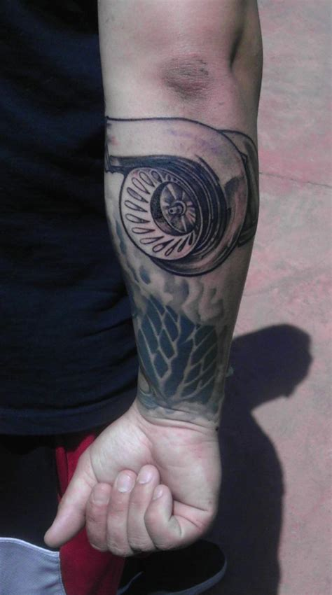 turbo sleeve 55 turbo tattoos ideas golfian com