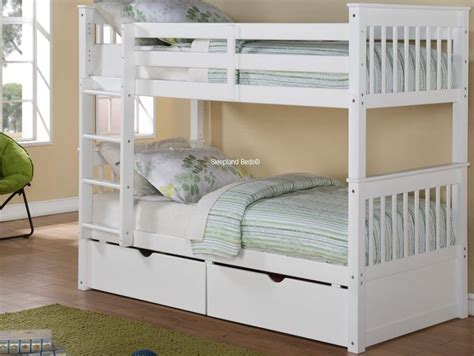 White Wooden Bunk Beds Are A Good Choice For You Jitco White Bunk Bed