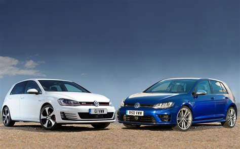 volkswagen tsi vs gti test vw golf gti vs golf r