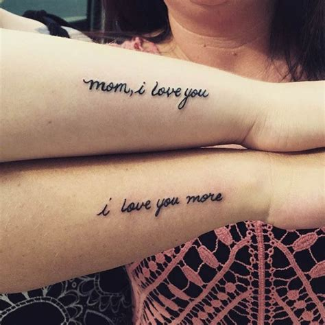 i love you mom tattoos designs 66 amazing tattoos daughters and