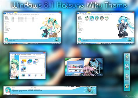 themes for windows 8 1 pc free download visual styles 8 theme anime win 8 8 1 hatsune miku by