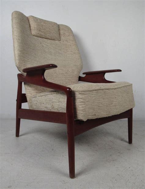 reclining club chair sale danish modern leather lounge chair with ottoman danish